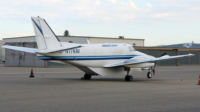 A picture of N174AV - Beech C99 Airliner - Ameriflight - © Jeroen Stroes