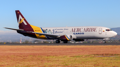 A picture of HK5139 - Boeing 737476(SF) - AerCaribe - © Kenneth Mora Flores KMF777
