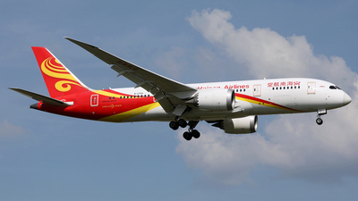 A picture of B2759 - Boeing 7878 Dreamliner - Hainan Airlines - © diqin265