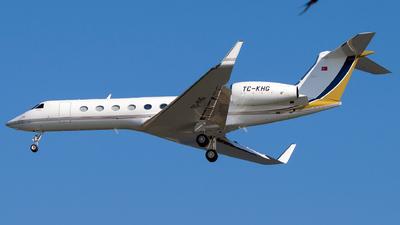 TC-KHG - Gulfstream G550 - Private