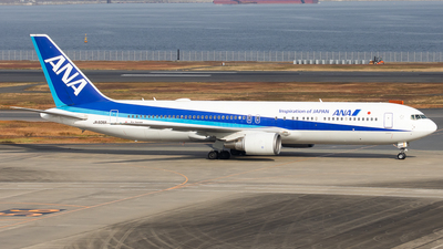 A picture of JA606A - Boeing 767381(ER) - All Nippon Airways - © H.Hayashi