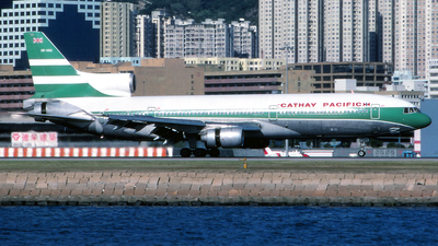 VR-HOG - Lockheed L-1011-1 Tristar - Cathay Pacific Airways