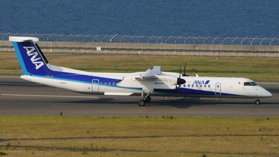 A picture of JA857A - De Havilland Canada Dash 8400 - All Nippon Airways - © Kinmei