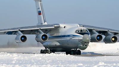 RA-76553 - Ilyushin IL-76MD - Russia - Air Force