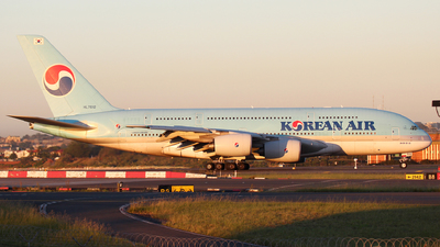 Hl7612 airbus a380 861 korean air flightradar24 dave potter jetphotos aircraft photo publicscrutiny Images