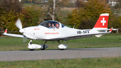 HB-SFX - Aquila AT01 - Swiss Flying Club