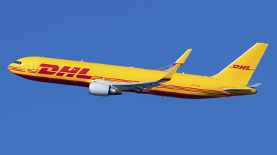 A picture of GDHLG - Boeing 7673JHF(ER) - DHL - © Mark Szemberski