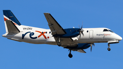 A picture of VHZXU - Saab 340B - Regional Express - © Robbie Mathieson
