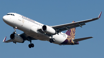 A picture of VTTTL - Airbus A320232 - Vistara - © Shrey Chopra