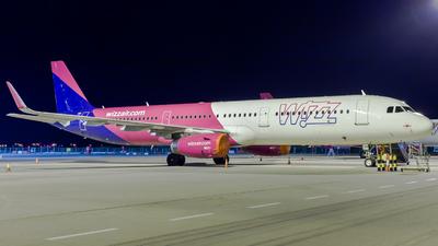 HA-LXR - Airbus A321-231 - Wizz Air