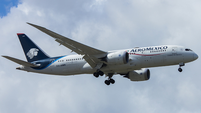 A picture of XAAMR - Boeing 7878 Dreamliner - Aeromexico - © Gabriel