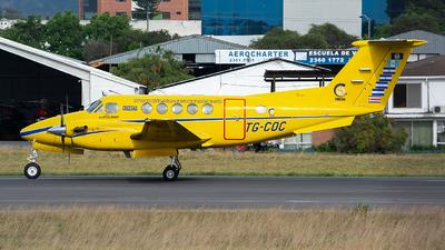 A picture of TGCOC - Beech 200 Super King Air - [BB1707] - © OSCAR GUILLEN