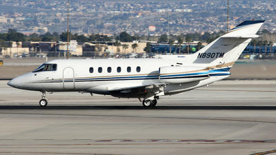 A picture of N890TM - Hawker 800XP - [258545] - © BaszB