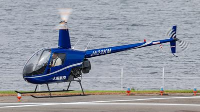 JA22KM - Robinson R22 Beta II - Osaka Aviation