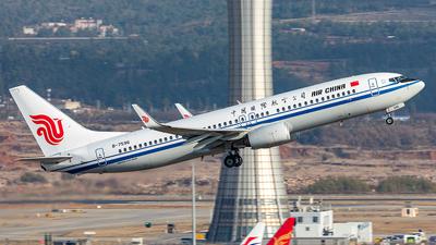A picture of B7596 - Boeing 73789L - Air China - © Yan Shuai