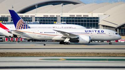 N20904 - Boeing 787-8 Dreamliner - United Airlines