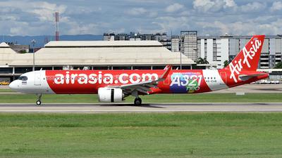 HS-EAB - Airbus A321-251NX - Thai AirAsia