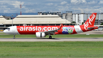 A picture of HSEAB - Airbus A321251NX - AirAsia - © Ratchapon Pipitsombat