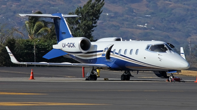 LV-GCK - Bombardier Learjet 60 - Private