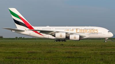 F-WWAT - Airbus A380-842 - Emirates
