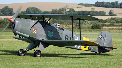 G-BUCC - Bücker 131 Jungmann - Private
