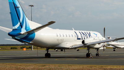 VH-VEF - Saab 340B - Link Airways