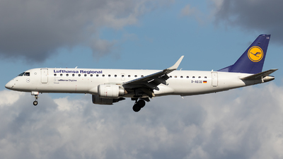 D-AECD - Embraer 190-100LR - Lufthansa Regional (CityLine)