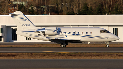 N508PC - Bombardier CL-600-2B16 Challenger 604 - Private
