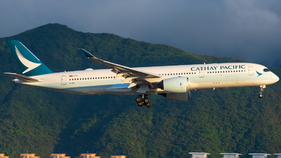 A picture of BLRX - Airbus A350941 - Cathay Pacific - © AN888