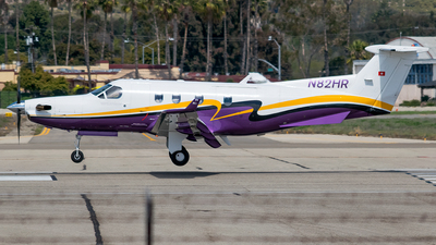 A picture of N82HR - Pilatus PC12/45 - [408] - © Ricky Teteris