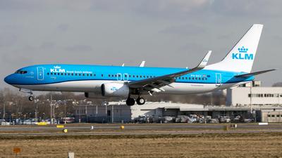 A picture of PHBXV - Boeing 7378K2 - KLM - © Grzesiek Krupa