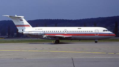 G-AVOF - British Aircraft Corporation BAC 1-11 Series 416EK - British Island Airways