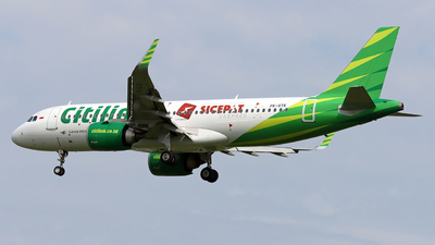 A picture of PKGTK - Airbus A320251N - Citilink - © Hafit Irawan