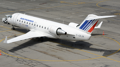 F-GRJM - Bombardier CRJ-100ER - Air France (Brit Air)