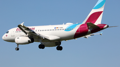 A picture of DAGWV - Airbus A319132 - Eurowings - © J.M.Carballo