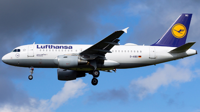 A picture of DAIBD - Airbus A319112 - Lufthansa - © Victor Akesson Aviation