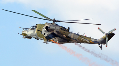 7356 - Mil Mi-24V Hind E - Czech Republic - Air Force
