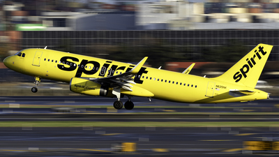 N625NK - Airbus A320-232 - Spirit Airlines