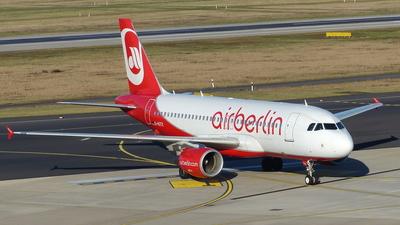 D-ASTX - Airbus A319-112 - Air Berlin
