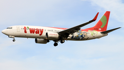 HL8024 - Boeing 737-8HX - T'Way Air