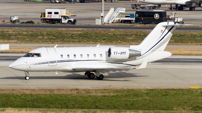 T7-UMT - Bombardier CL-600-2B16 Challenger 605 - Private