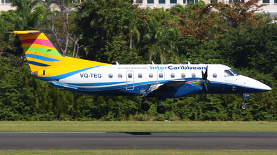 A picture of VQTEG - Embraer EMB120ER Brasilia - InterCaribbean Airways - © Angel Natal
