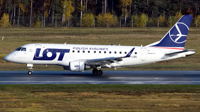 SP-LDG - Embraer 170-100LR - LOT Polish Airlines