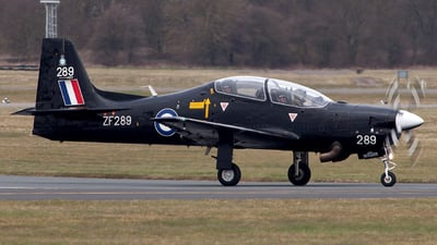 ZF289 - Short Tucano T.1 - United Kingdom - Royal Air Force (RAF)