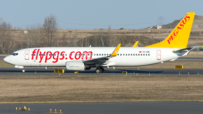 A picture of TCIZK - Boeing 73786J - [37742] - © Gerhard Zant