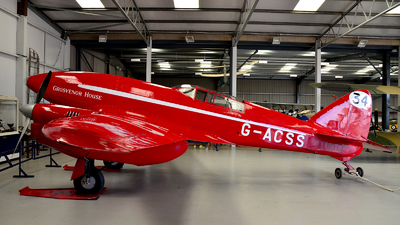 G-ACSS - De Havilland DH-88 Comet - Private