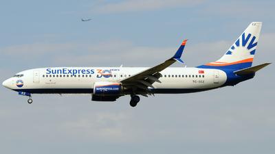 TC-SEZ - Boeing 737-8HC - SunExpress