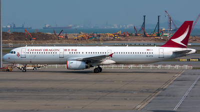 A picture of BHTG - Airbus A321231 - Cathay Dragon - © BobH