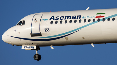 EP-ASQ - Fokker 100 - Iran Aseman Airlines