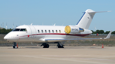 9H-OWL - Bombardier CL-600-2B16 Challenger 605 - Comlux Aviation Malta